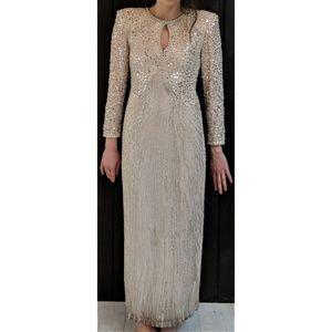 Black Tie Oleg Cassini Bergdorf Goodman Dress